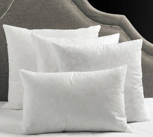 DECORATIVE PILLOW INSERTS, DOWN BLEND and CRAFT PILLOW INSERTS, insert pillows, down feather pillows, decorative pillows, polyester insert pillows, pillows