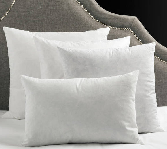 DECORATIVE PILLOW INSERTS | DOWN BLEND and CRAFT PILLOW INSERTS
