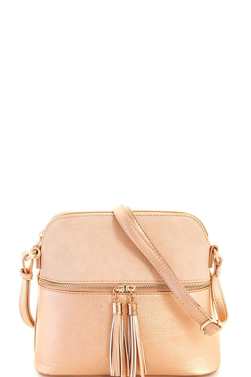 Two color cute princess shoulder bag