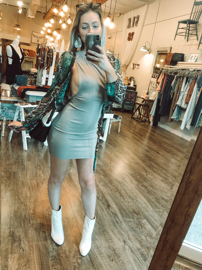 TINA TIGHT DRESS