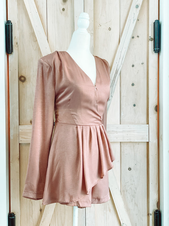 ROSE DUST ROMPER