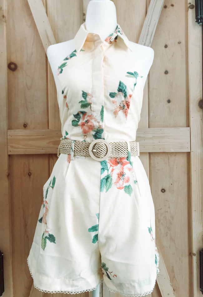BLISS PETAL ROMPER