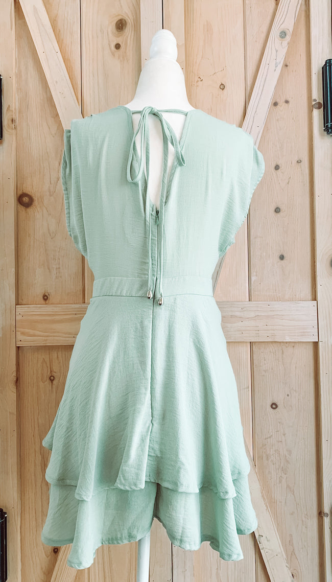 BEAUTY FLARE ROMPER