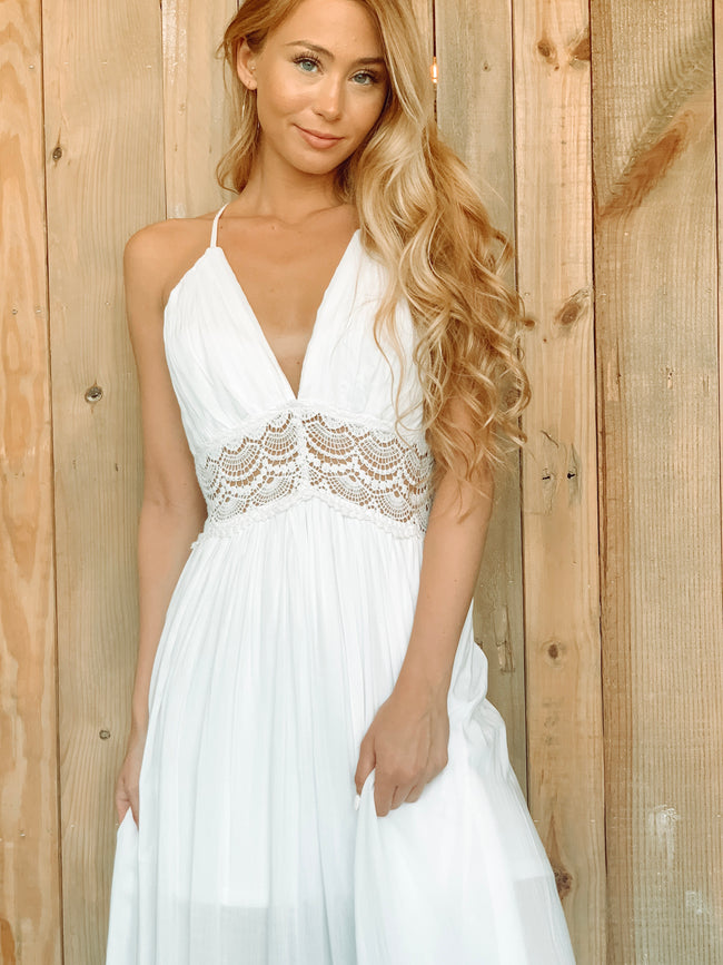 WHITE TANGO DRESS