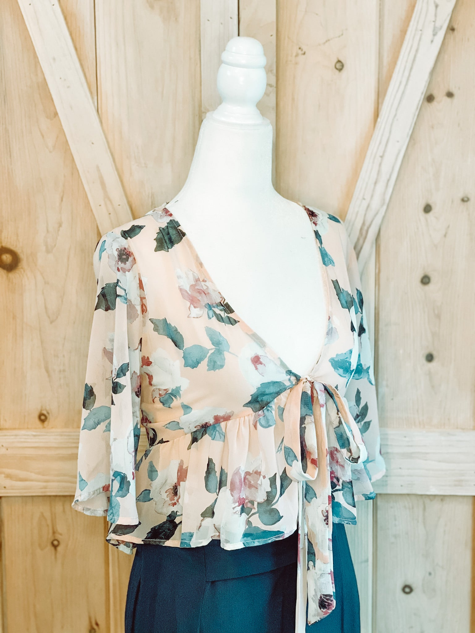FIERCE FLORAL TOP