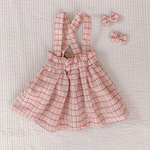 Dream Skirt & Bows - Raspberry