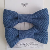 Solid Knit Bowtie