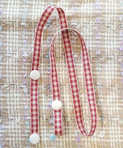 Red Flannel Lanyard