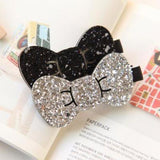 Shiny Bow Hair Clip