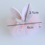 Rabbit Hair Clip