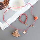 Carrot Jewelry Set