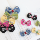 Mini Cat-Tie Hair Clip