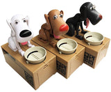 Adorable Hungry Puppy Coins Bank - usefulitem