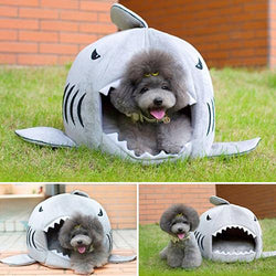 Shark Pet Bed For Small Dog and Cat - usefulitem