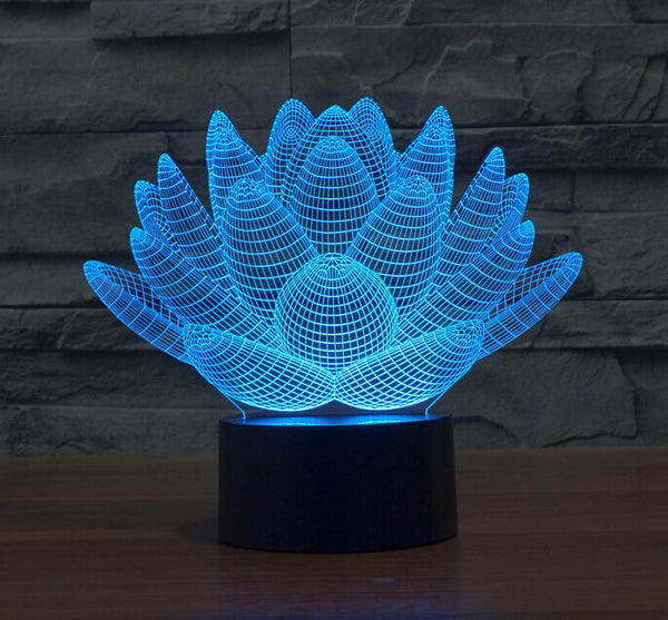 Lotus 3D LED Flower - 7 Colors Changable - usefulitem