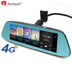 4G Mirror Car Camera with Android 5.1 with GPS,  Video Recorder + Rearview Mirror 8