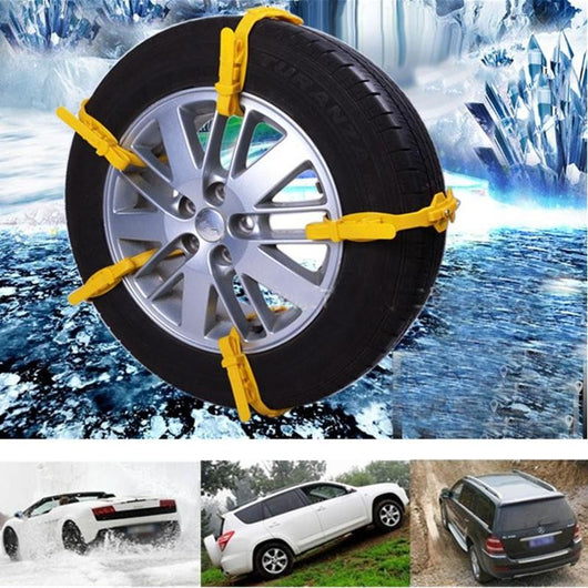 Anti-Skid Winter Tyres Chains - usefulitem