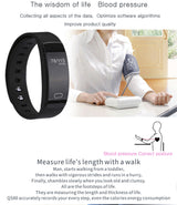 Smart Wristband Fitness,  Activity  & Blood Pressure Tracker - usefulitem