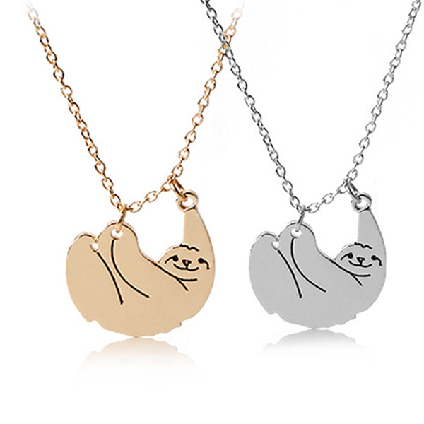 Sloth Necklaces Animal  Jewelry - A Gift for Animal Lovers - usefulitem