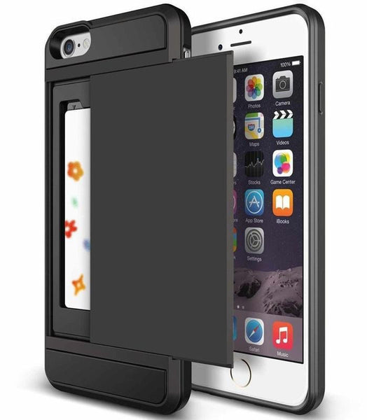 FREE Hybrid Case & Card Holder For iPhone - usefulitem