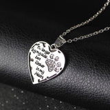 "Simple Hot Pet Necklace ""no longer by my side, but ....."" For Dog Lovers Only - usefulitem"