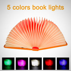 LED Foldable Book Shape Lamp