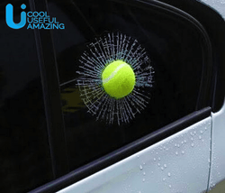 Hilarious Tennis Ball Sticker Prank - usefulitem