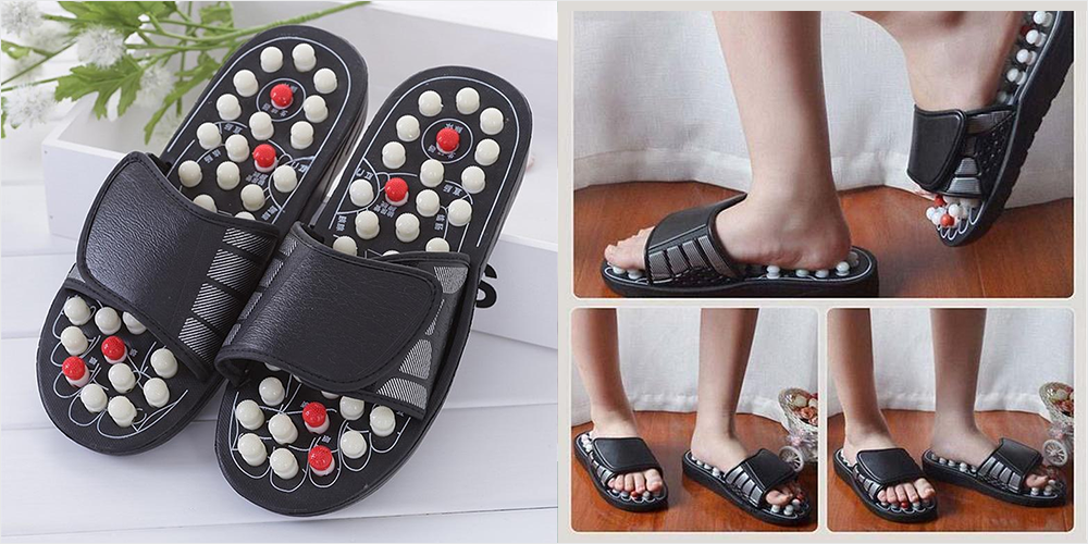 Which All Are The Health Benefits Of Acupressure Massage Slippers