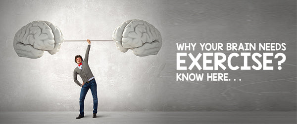 Why Your Brain Needs Exercise❓ Know Here. . . .
