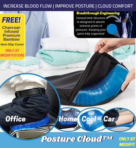 Posturecloud™ Spinal Alignment Comfort Cushion - Egg Sitter