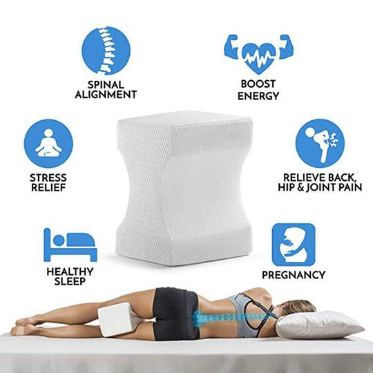 Orthopaedic KneePillow™ For Back Pain Relief