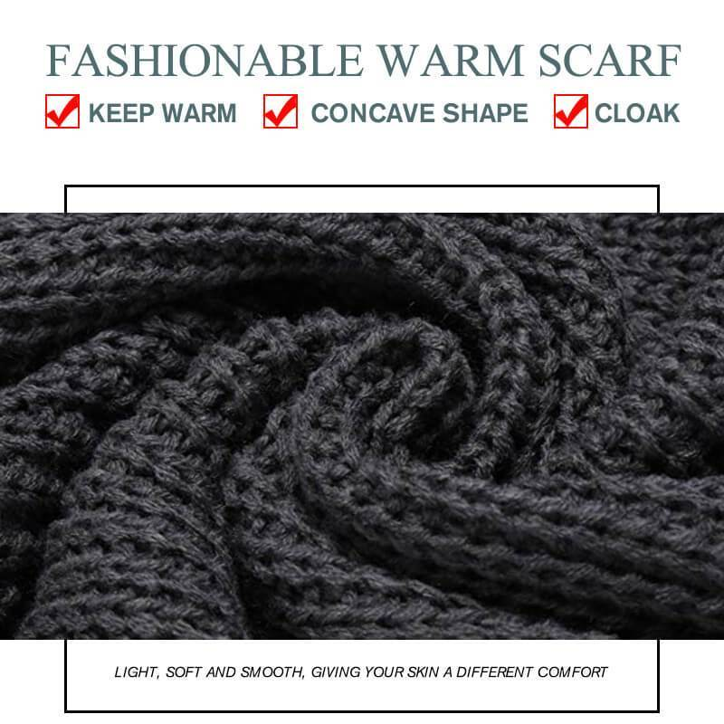 Sleeve Wool Scarf