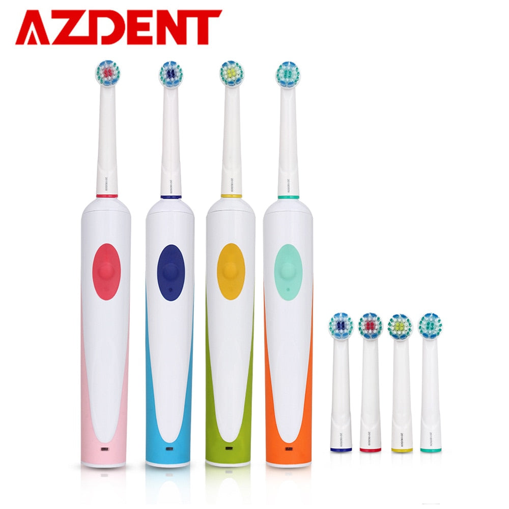 Rotary Head Electric Toothbrush