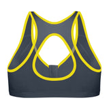 Active Zip Plunge - Grey/Yellow