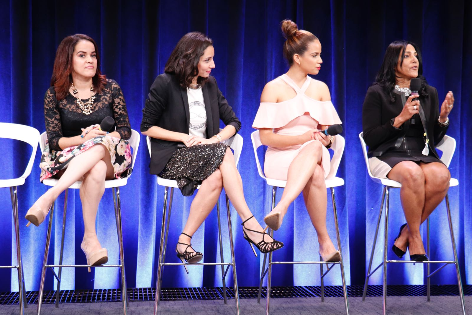 Latinas En New York Panel discussion at Google NYC