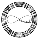 aroundeco logo, travel t-shirt, sustainable brand, ecofashion