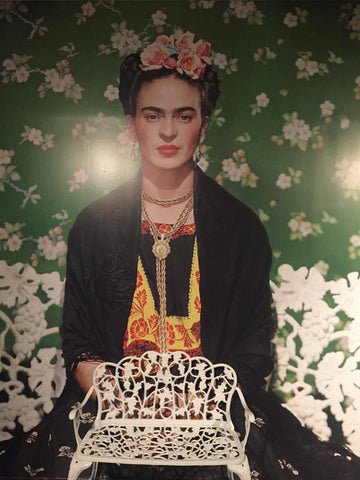 frida kahlo art at the museum in new york city