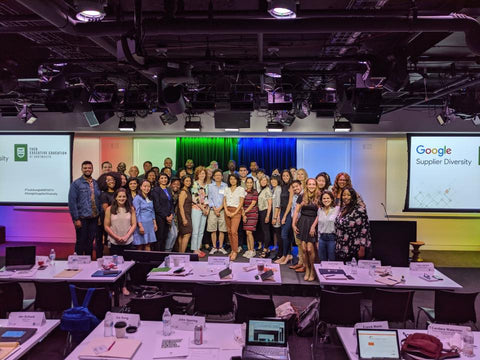 Washington DC Google Supplier Diversity Program alumnis in 2019