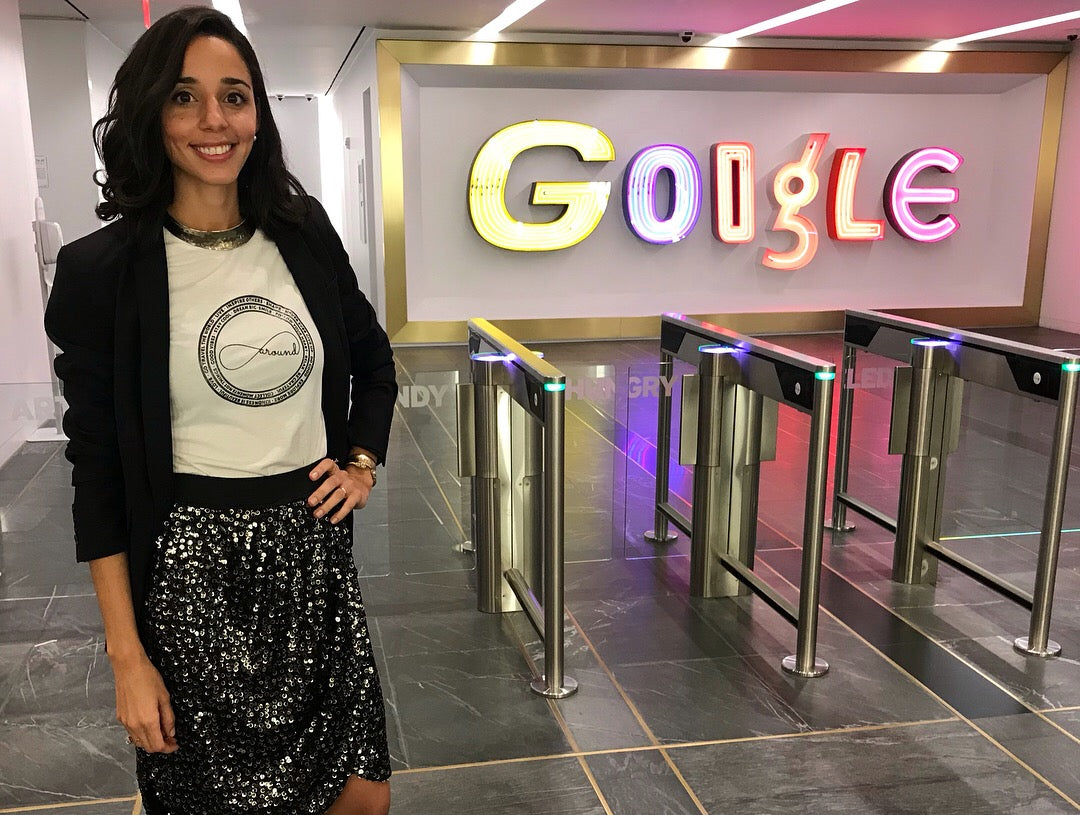 Around Eco Founder Jenn Velez at Google for Latinas En New York event 2018