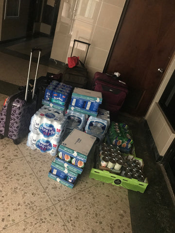 Groceries delivered from NYC to Puerto Rico for Huracan Maria by Around Eco