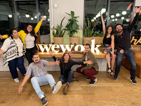 Around Eco Travel event at WeWork Mexico City