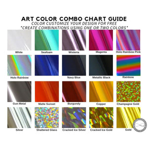 Around Eco Art Color Chart