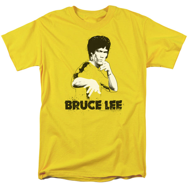 Bruce Lee - Suit Splatter Short Sleeve Adult 18/1