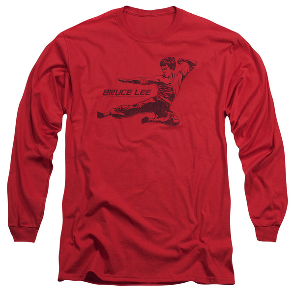 Bruce Lee - Line Kick Long Sleeve Adult 18/1 - ActionProPlus