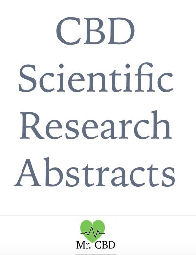 Free Mr. CBD Scientific Research Abstracts eBook
