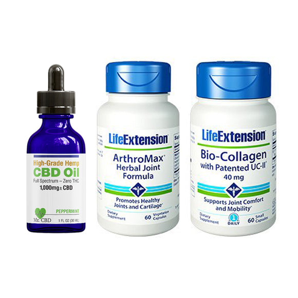 Joint Support with Life Extension & Mr. CBD
