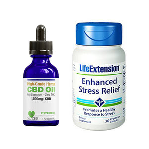 Enhanced Stress Relief with Life Extension & Mr. CBD