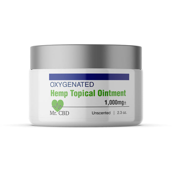 Mr. CBD 1,000mg Oxygenated Full-Spectrum Hemp Ointment