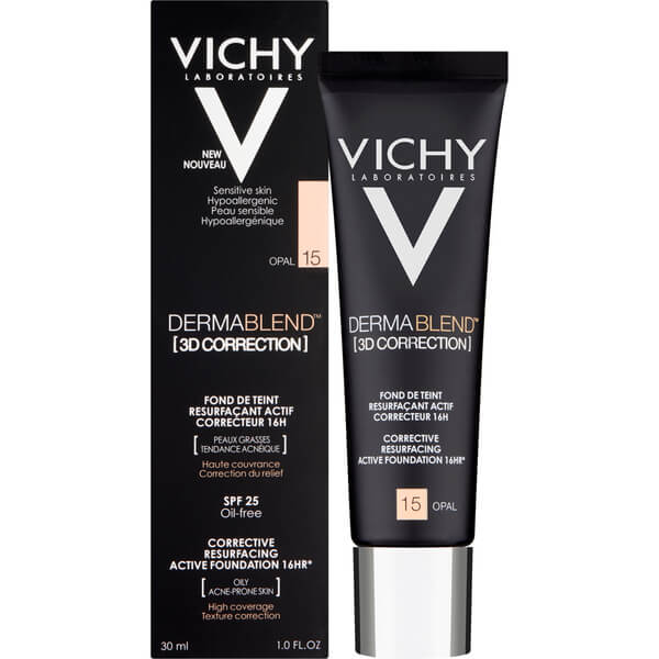 VICHY DERMABLEND CORRECCION 3D 30ML
