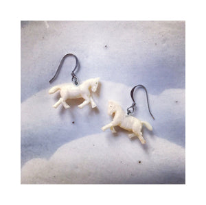 Tiny Horse Earrings